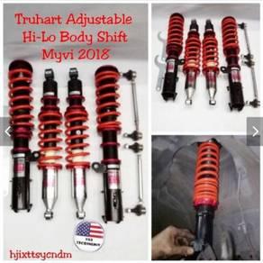 Adjustable truhart USA hi low bodyshift myvi 2018