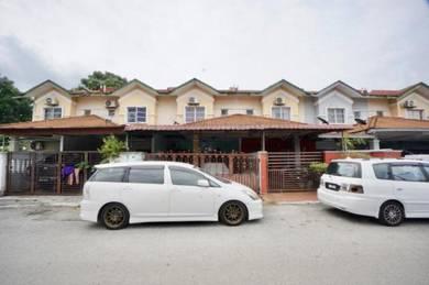 [Booking RM1,000 ]Double Storey Jalan Kebun Nenas, Bandar Putera