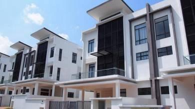 For sale 3 storey sem-d emery embun kemensah with privated pool