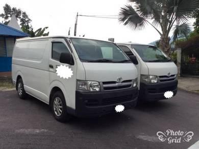 Toyota Hiace Panel Van 2.5 Diesel (M)