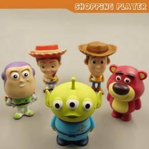 5pcs 7-Eleven Toy Story Buddies toys figure set