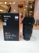 Sony fe 24-70mm f2.8 g master lens (1 month old)