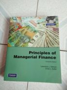 Principles Of Management Finance
