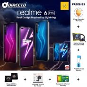 RealMe 6 PRO (8GB RAM/128GB RAM) MYset + 6 HADIAH