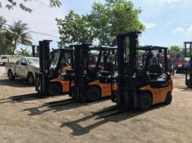 JAPAN Direct Import TOYOTA 1.5 ton DIESEL FORKLIFT