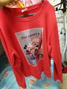 Mickey tag disney merah