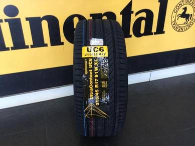 Tyre Continental UC6 215 45 17