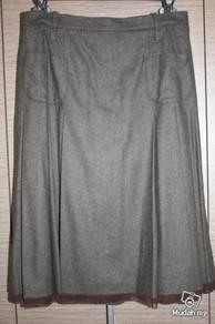 Hirsch brown skirt for winter