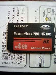 SONY MEMORY STICK PRO-HG Duo 4GB