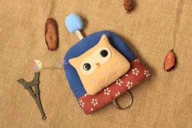 Cute Cartoon OWL Key Bag Access