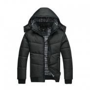 Men Thick Cotton Padded Jacket with Hood PL007