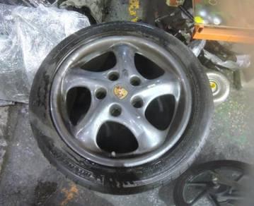 Porsche Boxster 996 Turbo 8.5Jx17 Sport Rims+Tyres