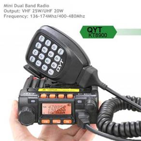 QYT KT8900 Dual Band 25W Mini Mobile Radio