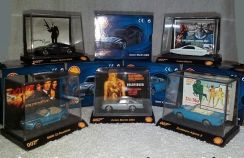JAMES BOND 007 Cars Collection (Complete Full Set)