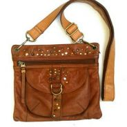 Fossil Full Leather Slim Sling Bag