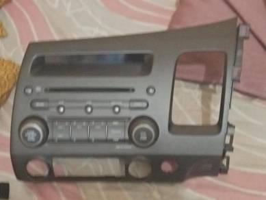 Original Radio Honda Civic Fd and mugen door wizer