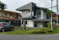 Double Storey Detached House. Miri