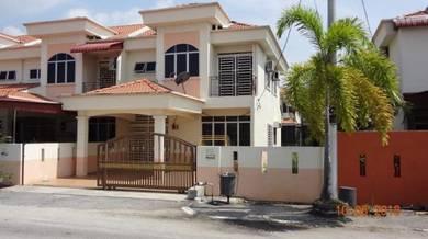 2 tingkat teres End Lot Fasa 2B dekat Hospital Manjung