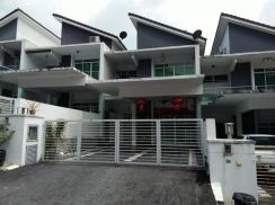 Rumah teres dua tingkat di vista hill taiping