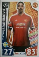 Match Attax CL 2018 Super Striker Z. Ibrahimovic