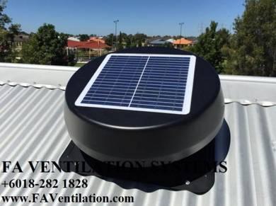 JUH23V FA Solar Powered Attic Vent & Fan * Germany