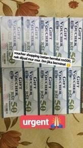 Voucher Isetan RM500