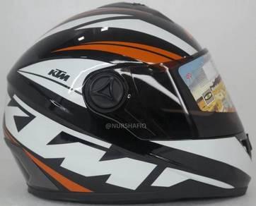 Ktm full face helmet (size : xl only)