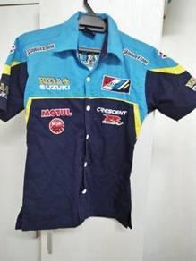 Kemeja Korporat Formula 1 Suzuki Rizla