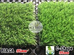 Premium C-Shape Artificial Grass Rumput Tiruan 01