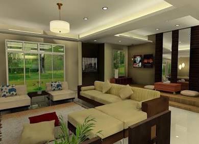 Senawang Double Storey Freehold 7 acres Greenery (Locate near palace)