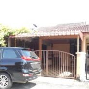 Batu Berendam, Single storey terraced house