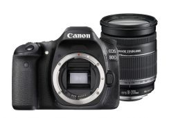 Canon 80D with 18-200mm kit lens