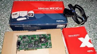Matrox RTX 100 Video Capture Card