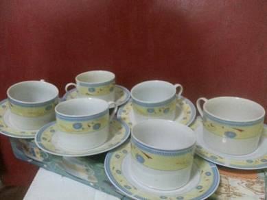 6 Cups tea