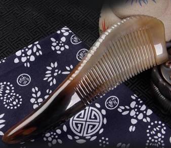 Natural Buffalo Comb I   Sikat Tanduk Kerbau Asli