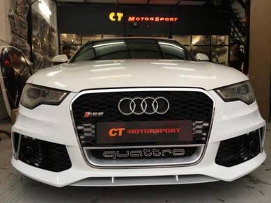 Audi A6 S6 C7 Convert RS6 Bodykit Bumper Diffuser