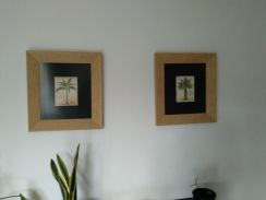 Professionally framed wall photo - excellent condi