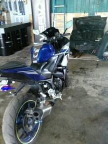 Yamaha r25 untuk dilepaskan