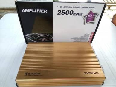 Amplifier 4ch 2500W