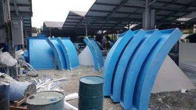 Aquaponic Joint Tank ( Fiberglass )