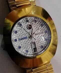 Jam Rado Diastar diamond sapphire ceramic Watch