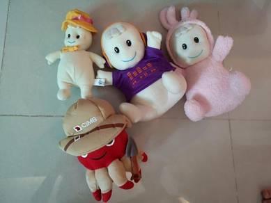 Preloved Soft Toys
