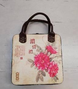 Storage wooden bag