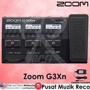 Zoom G3Xn Guitar Multi Effect Pedal FR EE Adapter