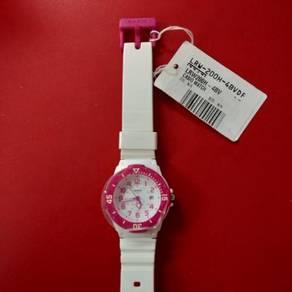 Casio LRW-200-4BVDF White Pink