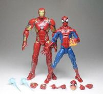 Iron Man MK46 Spider-Man 2pcs toys