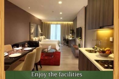 Ramada Hotel Suites,Bukit Ceylon, Bukit Bintang, Fully Furnished