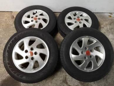 Rim 15 Kembara 5H Pcd 114.3 With Tyre