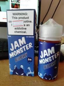 US Ejuice : Jam Monster Blueberry 6MG