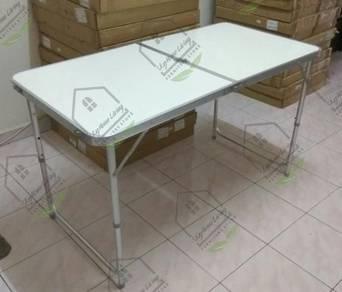 Meja Lipat Niaga Folding Table mudah alih COD12